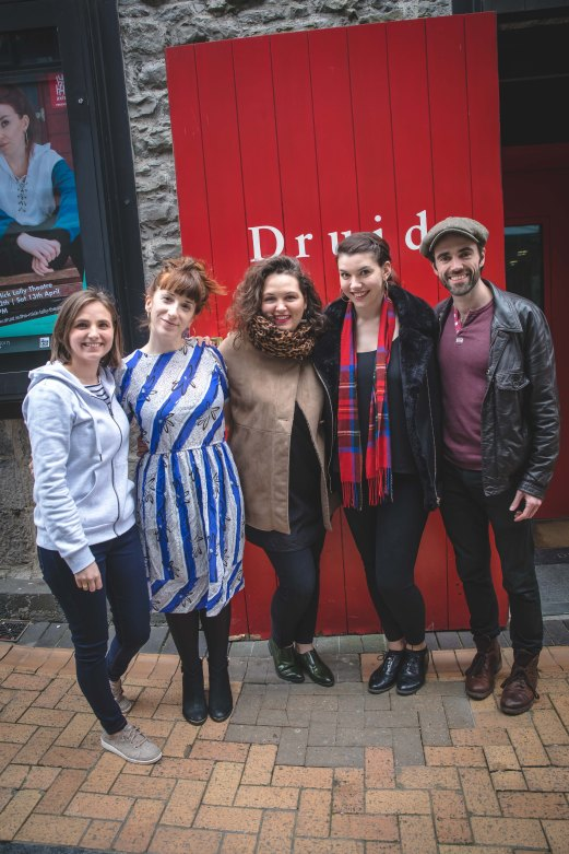 Claire Mullane (Director) Sarah-Jane Scott (Writer & Actor), Hannah Scott, Fiona Lucia McGarry & Sean T. O'Meallaigh